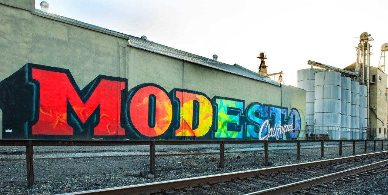 modesto graffiti art