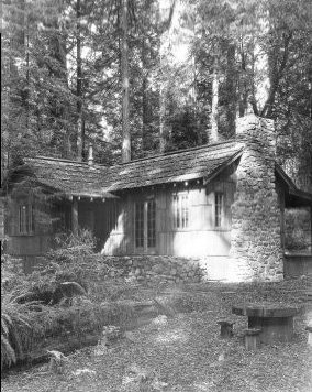 Bull Creek warden's residence, 1935