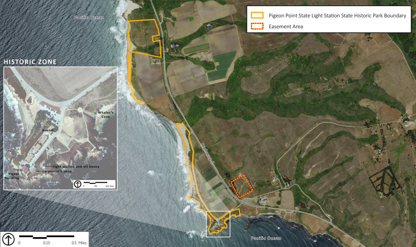 Pigeon Point GP Site Map