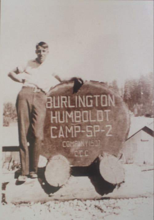 Camp Burlington-Humboldt sign