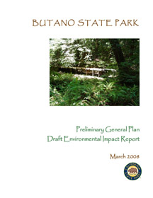 Butano Preliminary General Plan Cover