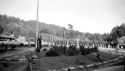 Taps at Mount San Jacinto CCC camp, 1935