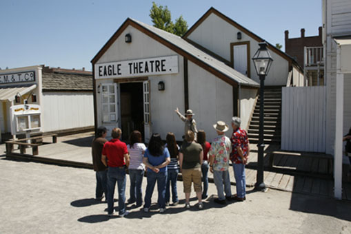 Eagle Theatre in Old Sacramento SHP