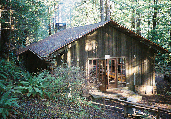 Camp 1 Recreation Hall, Mendocino Woodlands
