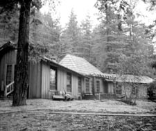 Dining Hall in Mendocino Woodlands, c. 1937