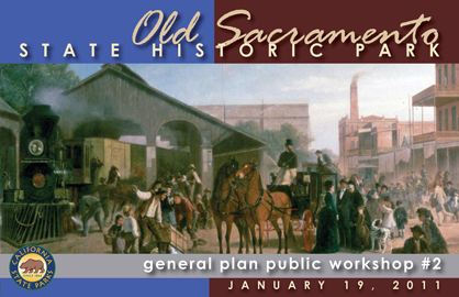 Old Sacramento SHP General Plan Workshop #2