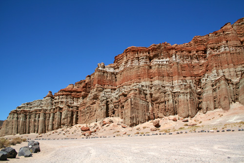 Cliffs at Red Rock Canyon State Park
