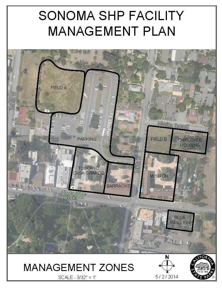 Sonoma SHP FMP Management Zones