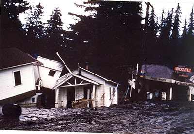More of the damage in Weott after the 1955 flood