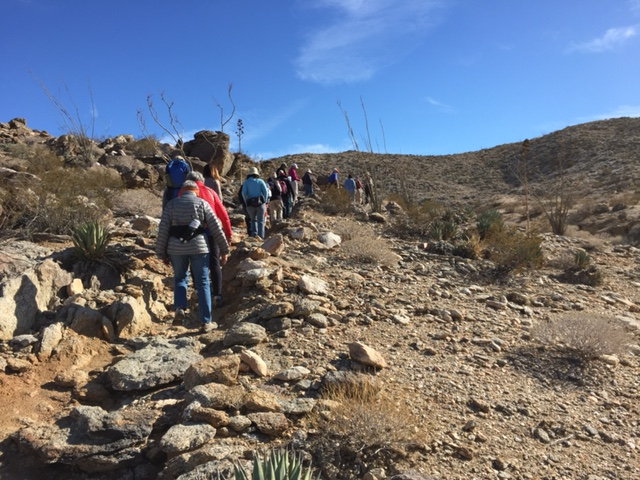 Anza Borrego Desert SP 2016 First Day Hike Image