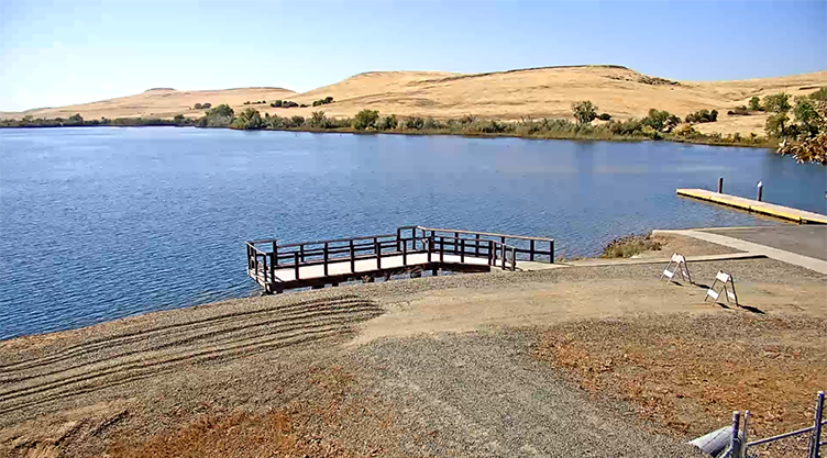 Oroville and Forebay Screen Cap