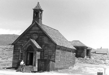 Bodie church image