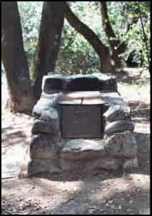 Camp stove from Marshall Gold Discovery SHP