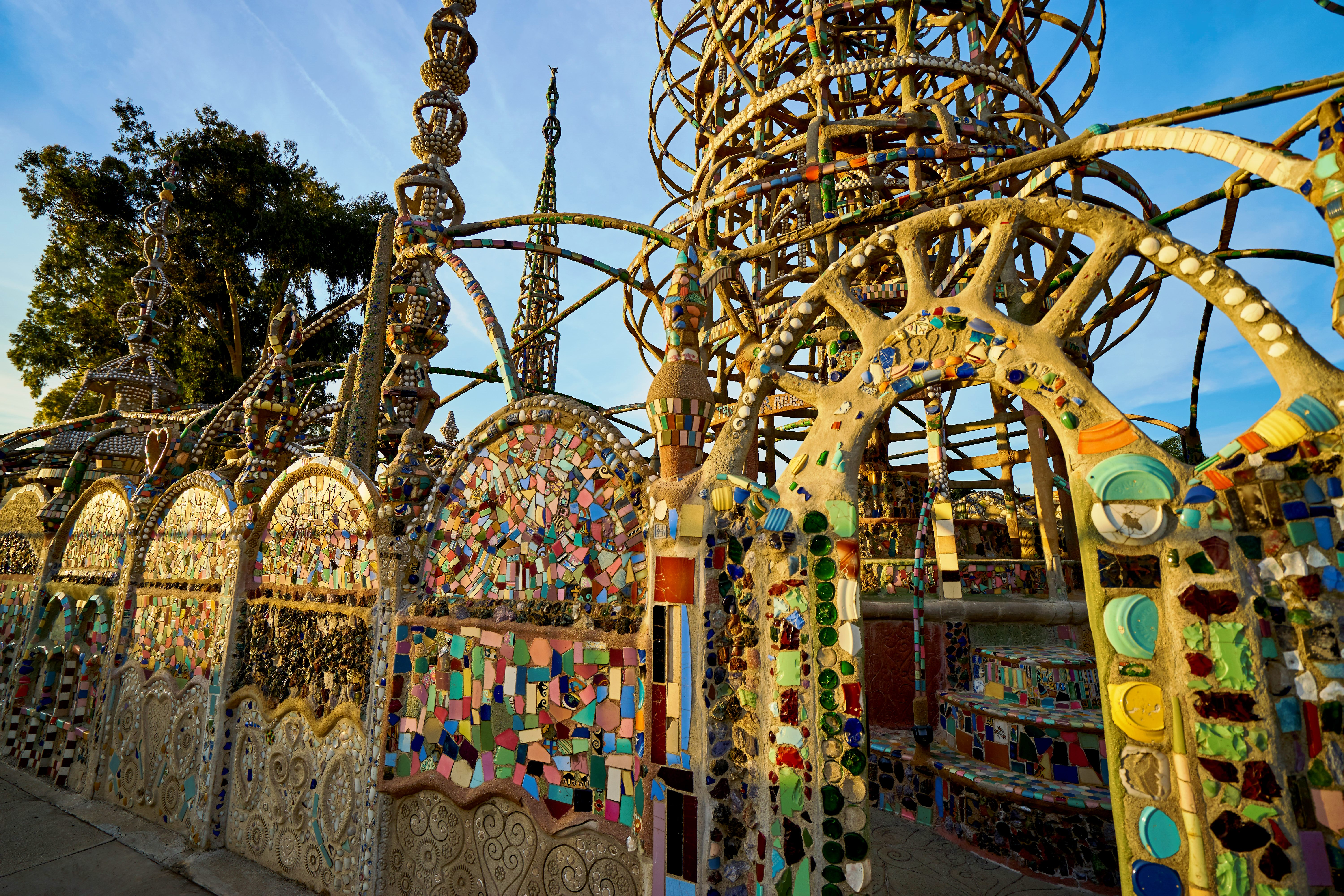 Watts Towers of Simon Rodia State Historic Park by Chris Corey