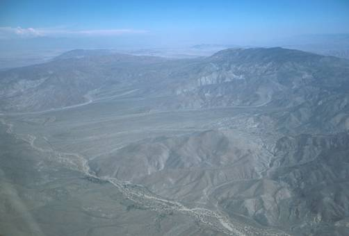 Mine Wash and adjoining drainages terminate at San Felipe Wash, a major drainage running out of the desert foothills toward the Salton Basin (Figure 2).