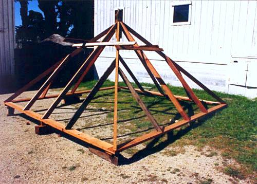 Image of roof support system