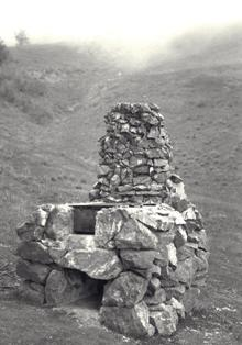 CCC built stove at Mount Diablo State Park in 1939