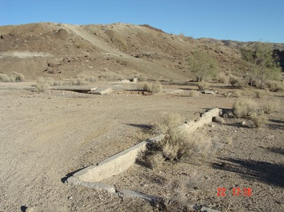 Site of Cudahy Camp in Red Rock Canyon State Park