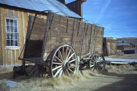 Frontier Wagon at Bodie State Historic Park