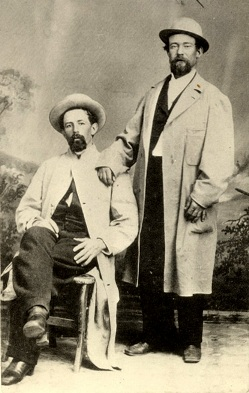Hank Monk pictured on the right, from California State Library