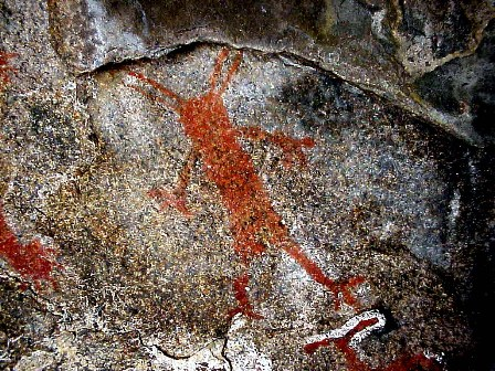 Rock Art figure