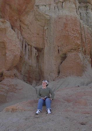 Having fun in Red Rock Canyon
