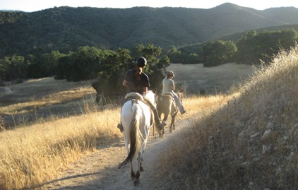 Riding in Malibu Creek