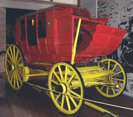 Celerity Wagon in Old Town San Diego Seeley Stable