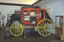 Old Town San Diego SHP Stagecoach Exhibit