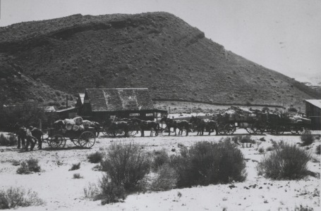 Red Rock Canyon Historic Stagecoach Station photograph