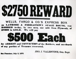 Wells Fargo Reward
