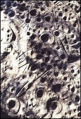 Cupules and incised lines at CA-MEN-2200 (Keystone site).