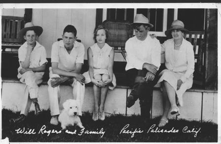 Will Rogers Family