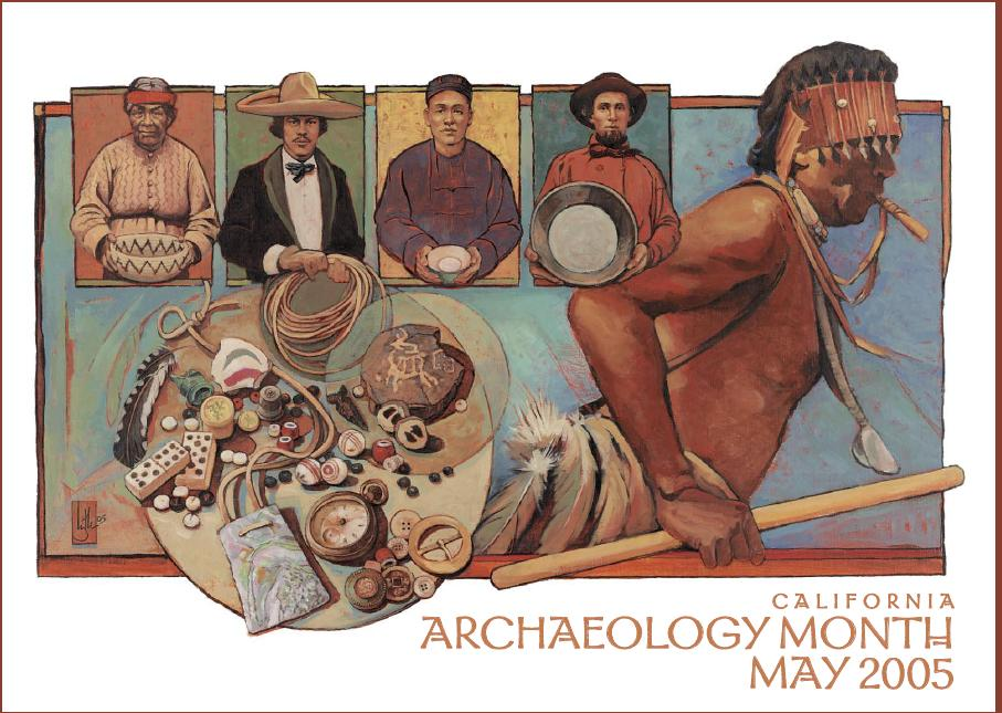SCA Archaeology Month Poster, 2005
