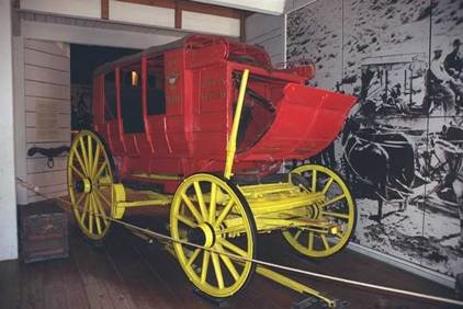 Stagecoach in Seeley Stable, OTSD