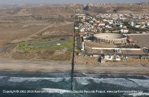 California Mexico Border