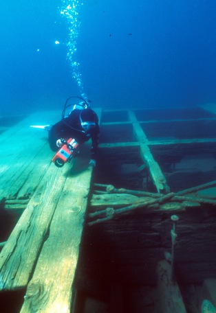 Emerald Bay has had some of the most extensive underwater archaeological research in the state.