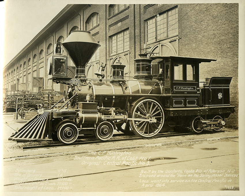 C.P. Huntington locomotive