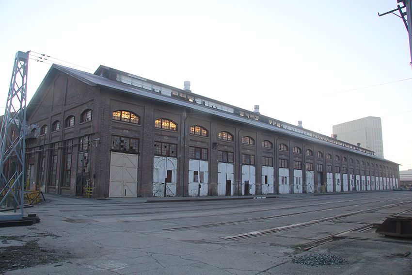 Current image of the Railyard shops