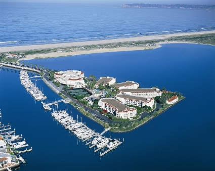 Loews Coronado Bay Resort in San Diego is next to Silver Strand State Beach.