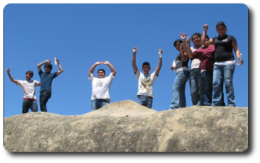 Youth on Diablo Rocks
