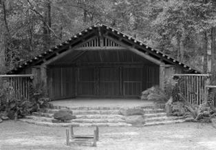Outdoor Theater at Big Basin in 1936