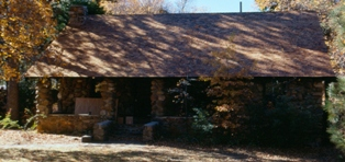 The CCC built Warden's Residence at Paso Picacho