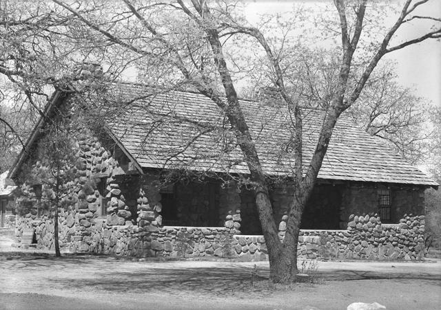 Warden's Residence at Paso Picacho campground in Cuyamaca Rancho in 1936