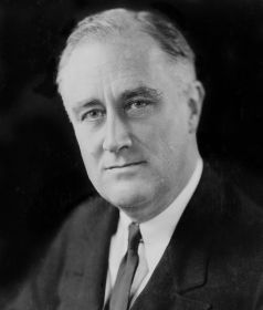 FDR in 1933 US Library of Congress