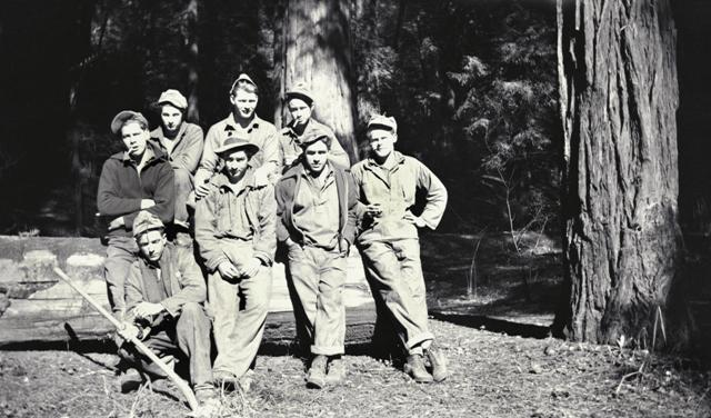 Camp Humboldt Redwoods crew members