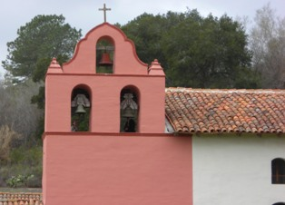 Belltower of the La Purisima Mission