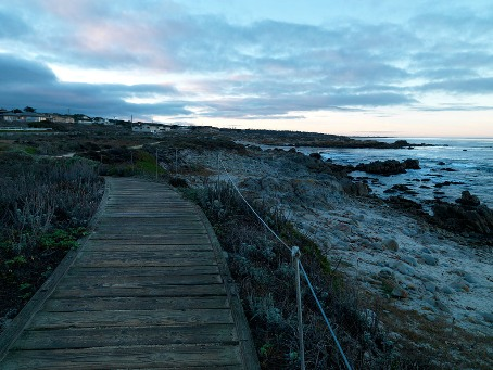 Asilomar State Beach boardwalk