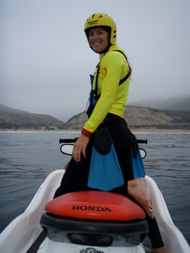 California State Parks Lifeguard Alexis Jones