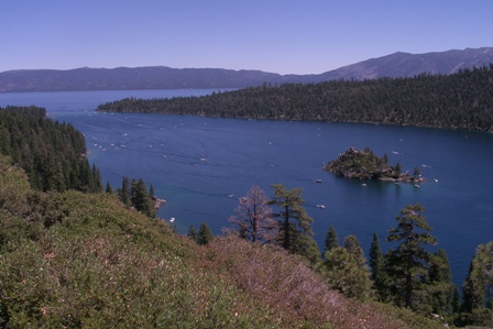 Emerald Bay State Park with Fannette Island